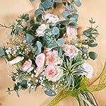 Supla-3-Pack-Silk-Ranunculus-Artificial-Flowers-Ranunculus-Flower-Spray-in-Peach-Pink-176-Tall-Blooming-Silk-Buttercup-Stems-for-DIY-Wedding-Bridal-Bouquets-Floral-Arrangement-Centerpiece
