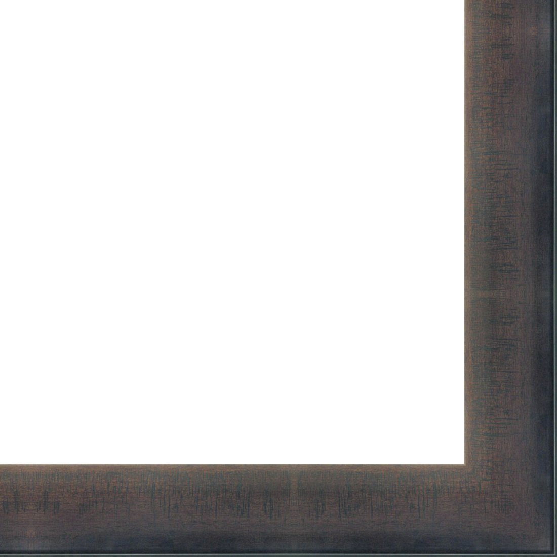 Picture Frame Moulding (Wood) 18ft bundle - Contemporary Mahogany Finish - 2.75'' width - 1/2'' rabbet depth