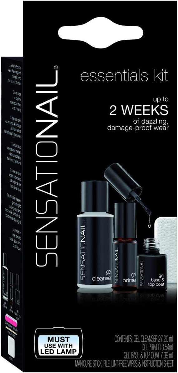 SensatioNail - Kit Essentials Gel Esmaltado Permanente