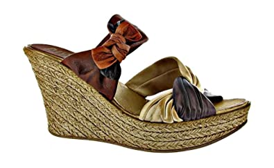 1fe462c71 Image Unavailable. Image not available for. Colour  Riva Leather Lined Womens  Sandals - Brown - Size 35 36 37 38 39 40