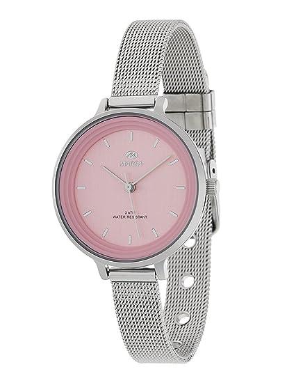 7aaae41a1a57 Reloj Marea Mujer B41198 2 Esterilla Rosa  Amazon.es  Relojes