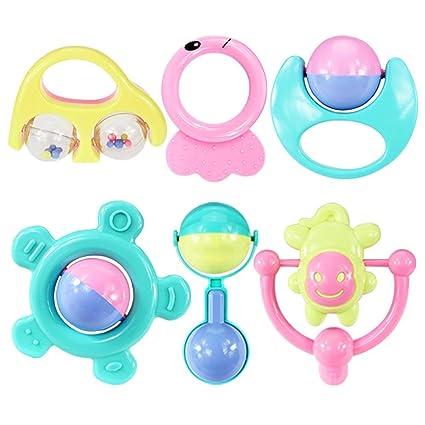 Hemore - Juego de 6 piezas de juguetes para bebé, diseño de ...