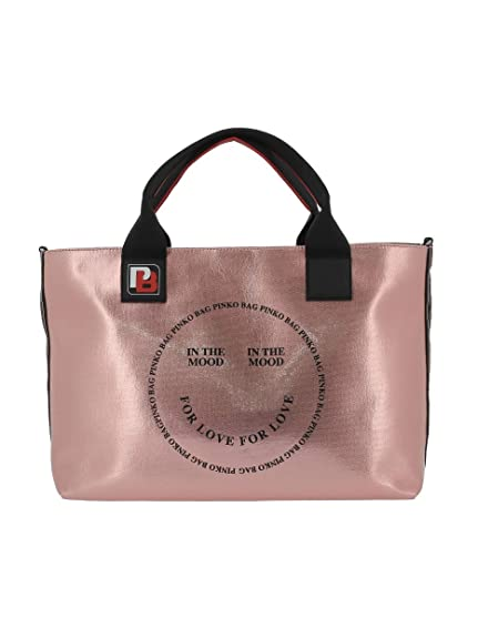 27bcc886af0f4 Pinko In The Mood Shopping Canvas Cerato