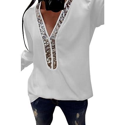 f3954d87c55fc Amazon.com: Clearance❤️Women Casual Blouse, NEARTIME Fashion Sexy ...