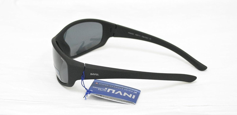 INVU Gafas de Sol polarizadas 2501 B Negro elástica indeformabile Lentes 100% UV Block Sunglasses Polarized: Amazon.es: Deportes y aire libre