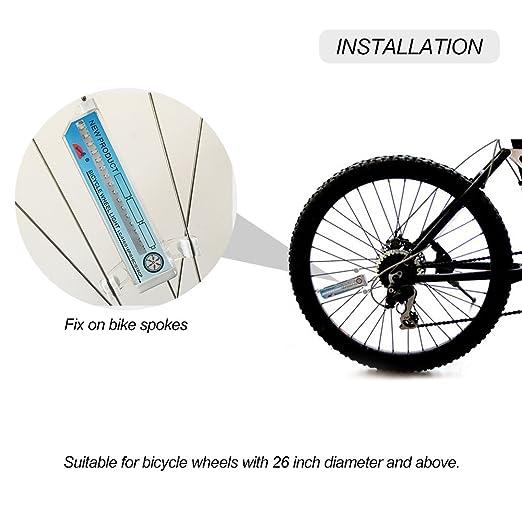 Docooler 174 Colorful Bicycle Bike Cycling Wheel