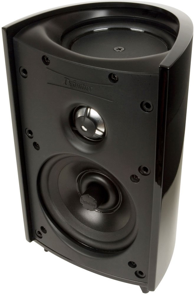 Amazon Definitive Technology ProMonitor 1000 Bookshelf Speaker Single Black Home Audio Theater