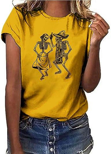 Camisetas Mujer Verano Camisetas Mujer Originales Casual Camisetas ...