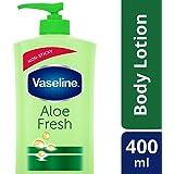 Vaseline Intensive Care Aloe Fresh Body Lotion, 400 ml