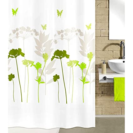 Floral Shower Curtain Fabric