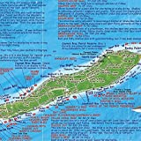 Cayman Islands Dive & Adventure Guide Franko Maps Waterproof Map