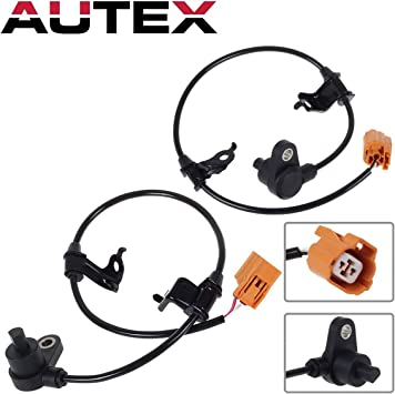 CL TL Accord Rear Left /& Right Fits ABS Wheel Speed Sensor Front Set  4