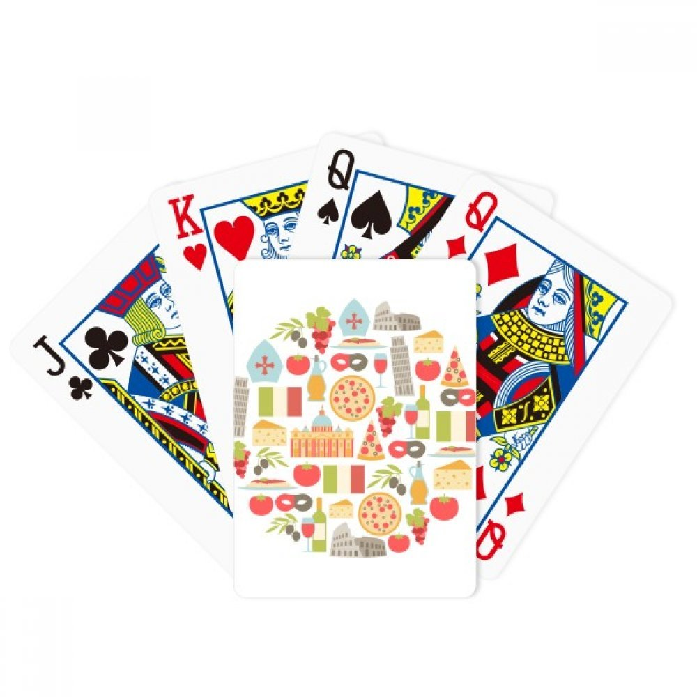 Italy The Leaning Tower of Pisa Roman Poker Playing Cards Tabletop Game Gift