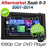 tunez saab 9-3 car dvd player 2007 2008 2009 2010 2011 2012 2013 2014 usb  mp3 stereo radio fascia facia iso kit…