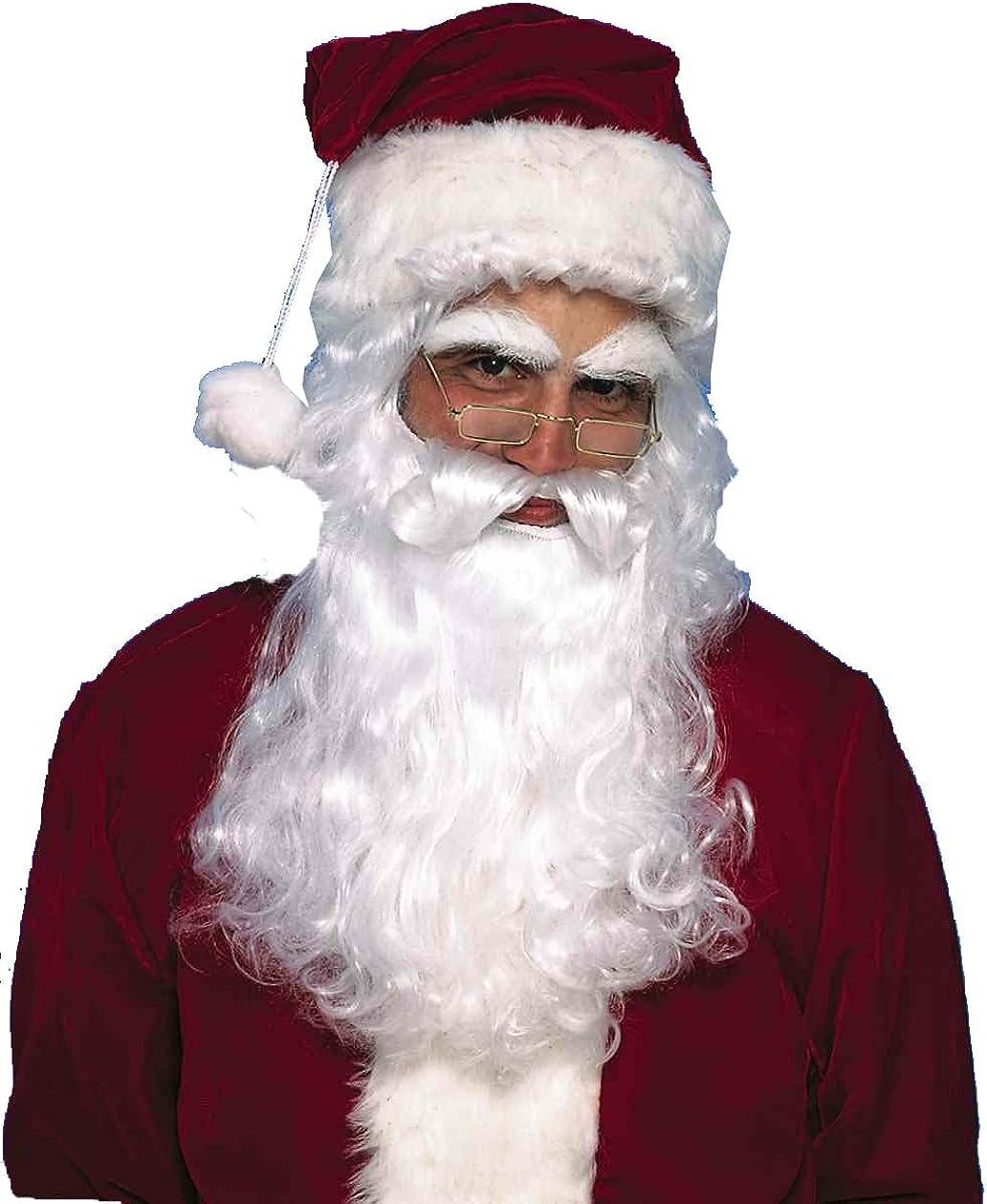 Forum Novelties Mens Santa Claus Wig and Beard Set