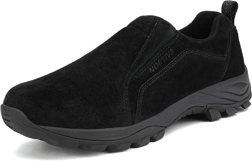 NORTIV 8 Botas de Senderismo Impermeables para Hombres Zapatos al Aire Libre 160448-low Mochileros Zapatos de Senderismo para Hombre