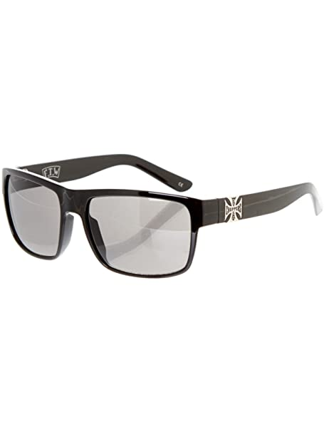 Gafas De Sol West Coast Choppers Wtf Shiny Negro-Smoked (Default ... 1e02e16b8e03