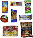 Healthy Snacks Gift Box, College Dorm, Military,Breakroom Bundle Gift (45 Count)