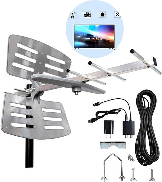 CNRGHS Antena HDTV Digital Amplificada Antena Exterior, TV ...