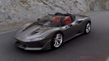 Looksmart Ls18016d Ferrari J50 Met Grey W Silver Wheels C Vetrina 1 18 Die Cast Kompatibel Mit Amazon De Spielzeug