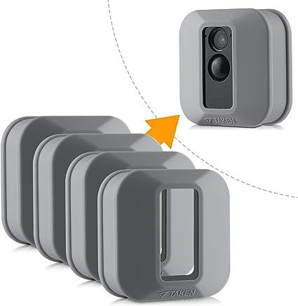 Blink Xt Hülle Silikon Skin Für Blink Xt Outdoor Home Security Kamera Uv Und Wasserfest Indoor Outdoor Blink Xt Schutzhülle 4er Pack Grau Elektronik