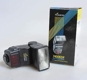 Promaster 7400EDF Electronic Flash for Canon EOS