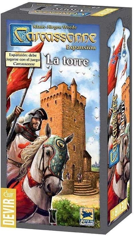 Devir - Carcassonne La Torre, Juego de Mesa (BGTORRE): Amazon.es: Juguetes y juegos