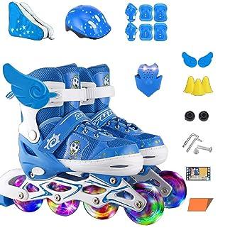 Inline Skates und Anzug Rollschuhe ZCRFY Jungen Kinder vm8nw0N