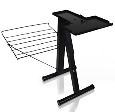 Steam Press Stand, 24-Inch High, Black