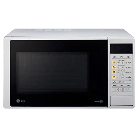 LG MH6342DS - Microondas y grill, 23 litros, 800W, color plateado
