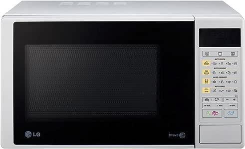 LG MH6342DS - Microondas y grill, 23 litros, 800W, color plateado ...
