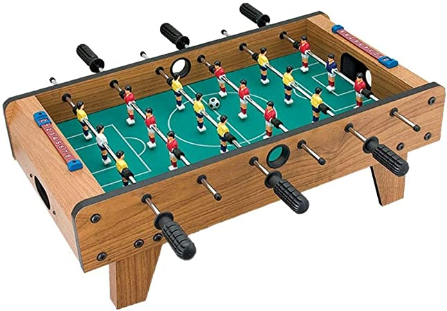 Futbolines Mesa De La Máquina Puzzle Doble Juego De Mesa Juguetes De Los Niños For Los Niños (Color : Brown, Size : 69 * 37 * 24.5cm): Amazon.es: Hogar