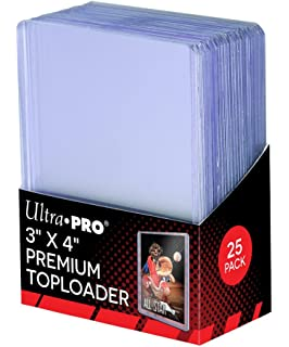 910d5104f79 Amazon.com   Ultra Pro 3x4 Top Loaders 100 ct Plus 100 Free Card ...