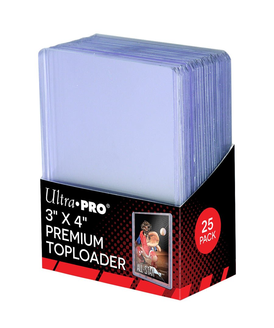 Amazon.com : 25 - Ultra Pro 3 X 4 Top Loader Card Holder for ...