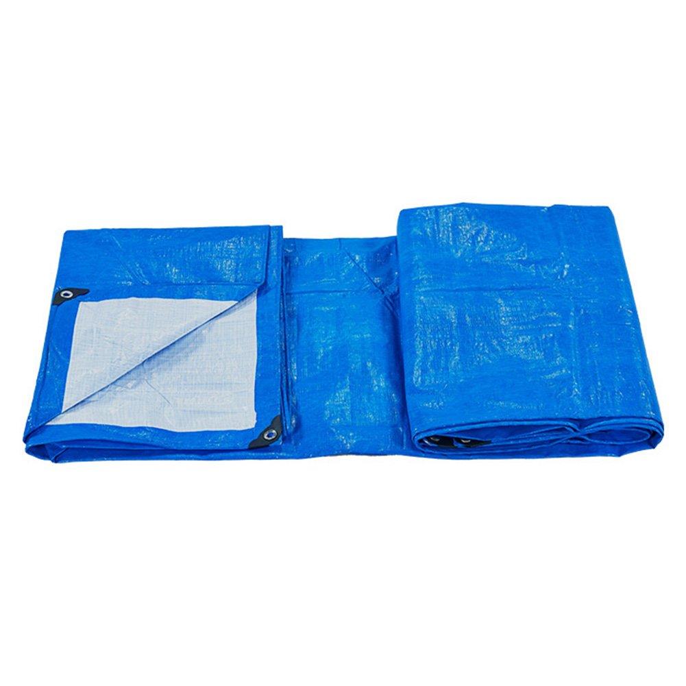 AJZXHE Plane, Regenschutz, Lastwagen, Regen, Sonne, Sonnenschutz, Anti-Aging, zusammenklappbar weiß blau, weiß zusammenklappbar -Plane 0ced6b