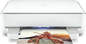 HP Envy Wireless Bluetooth All-in-One Color Inkjet Printer- Instant Ink Ready- Mobile Print Copy Scan for Home Office, Borderless Auto 2-Sided Printing, Self-Healing Dual-Band WiFi