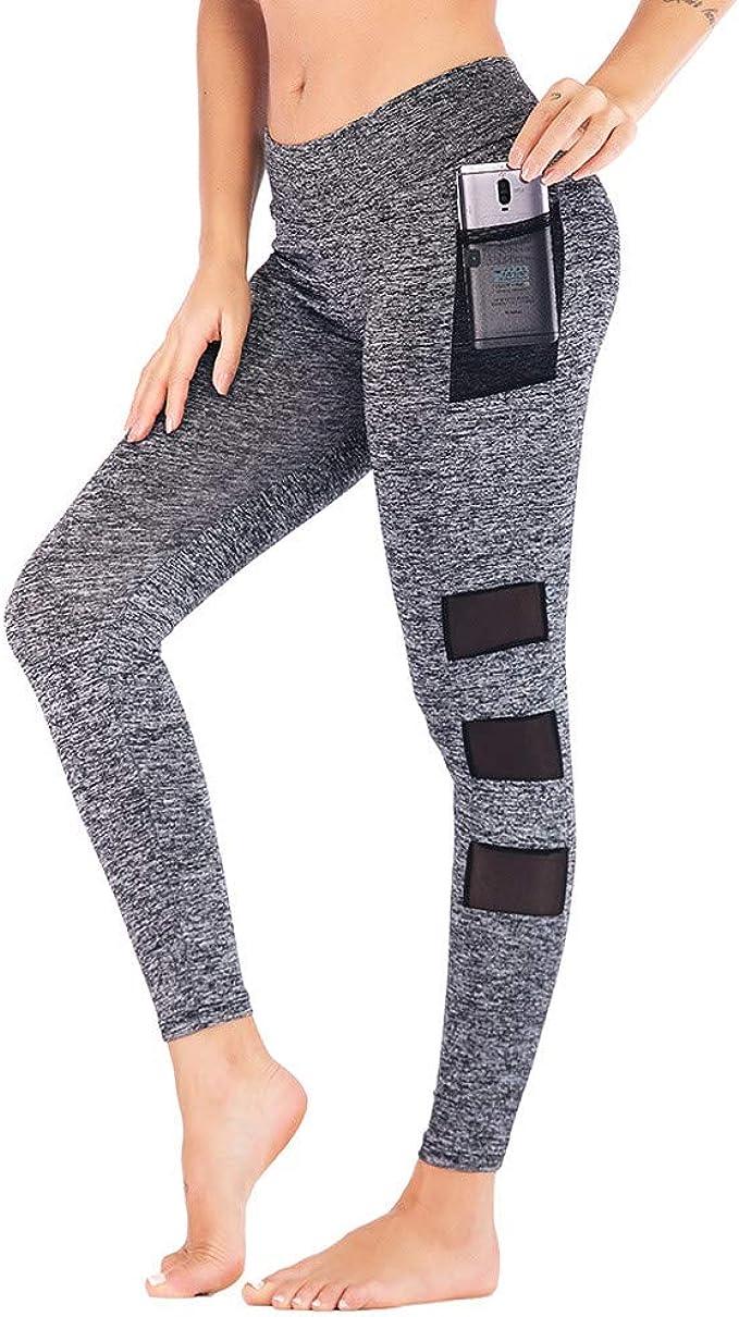 QinMMROPA Mujer Pantalones Deportivo, Moda Mujeres Yoga ...