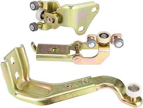KIMISS Kits de guías de rodillos para puertas corredizas para automóviles [Polea superior izquierda puerta central] para 1997-2007: Amazon.es: Coche y moto