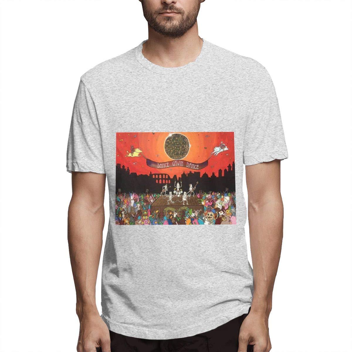 Lihehen Gavin Dance Fashion Leisure Round Neck Tees Shirts