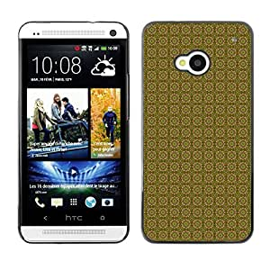ZECASE Funda Carcasa Tapa Case Cover Para HTC One M7 No.0004585