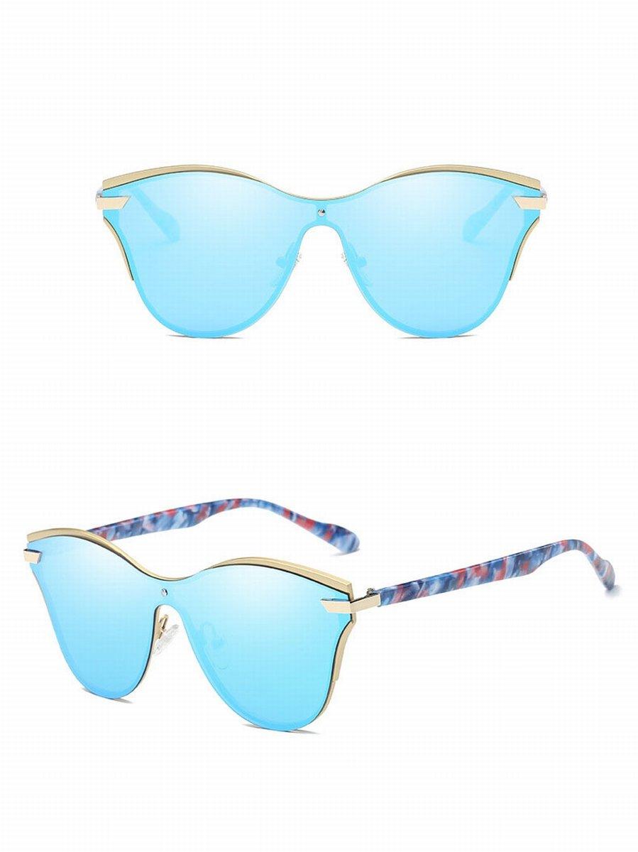 art und Weisestück des polarisierten Spiegels helle farbenmänner und frauen-sonnenbrille Retro- sonnenbrille silberrahmen Rm0nsog4