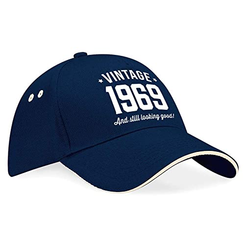 50th Birthday Cap Hat Baseball Gifts Idea Present Keepsake Novelty Funny Gift For Women Men