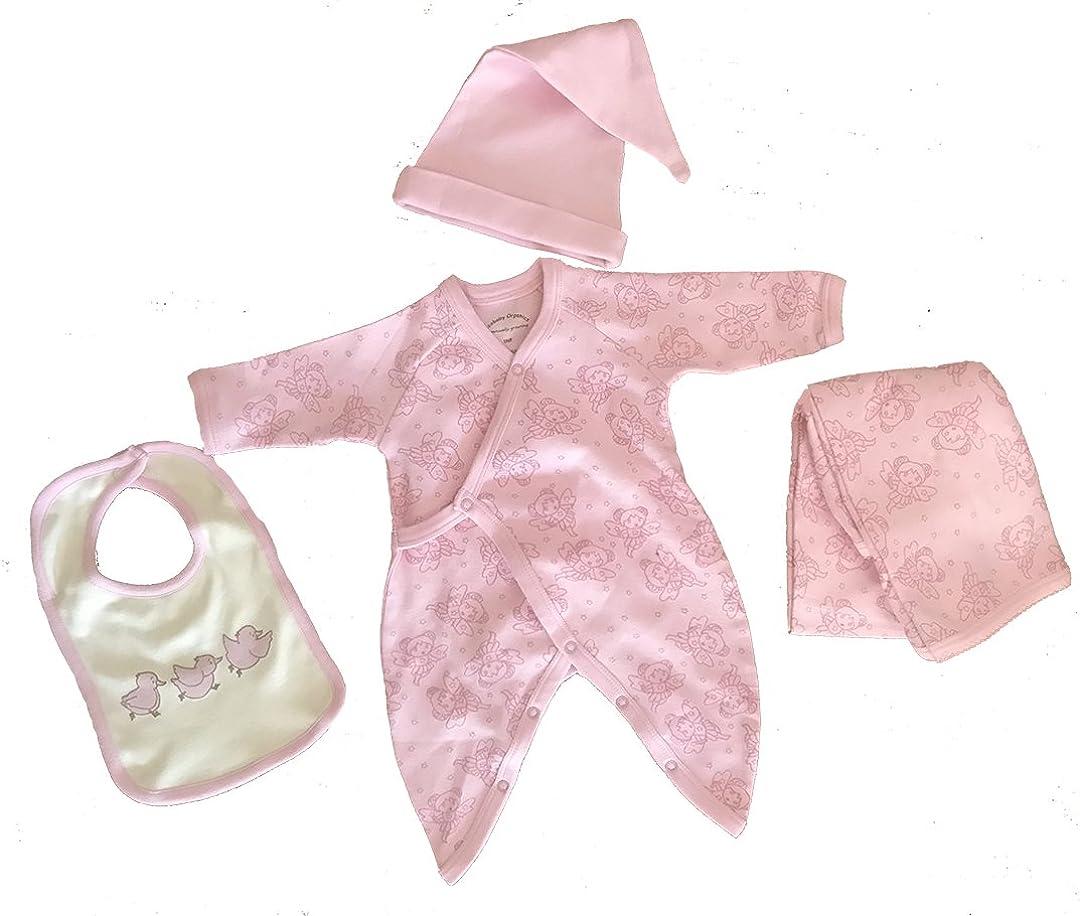 Tee Ecobaby Organics Organic Cotton Kimono Bib with Free Blanket