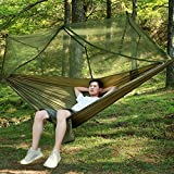 Navestar Double Hammock with Mosquito Net, 440 Pounds Capacity, Sturdy & Lightweight for Outdoor Backpacking Camping Trip Hiking / Indoor Garden Yard