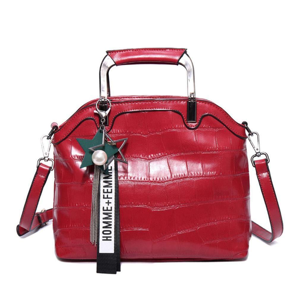 Circlefly Europäische Mode weiblichen Tasche Krokodil Muster Leder Umhängetasche Damen Damen Damen Handtasche Rindleder tragen wasserdicht B07HZ7XQ6Z Henkeltaschen Bekannt für seine hervorragende Qualität 576780