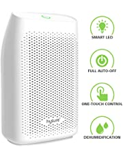 hysure Dehumidifier, Removes Humidity 300ml/day, Electric Damp Absorber Water Tank, 700ml