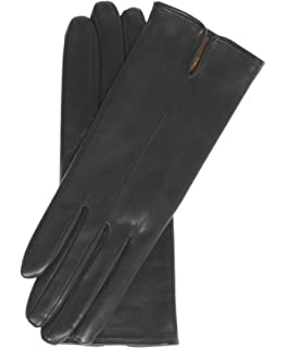 96fec49bc8212 Fratelli Orsini Everyday Women's Italian Silk/Cashmere Lined Leather Gloves