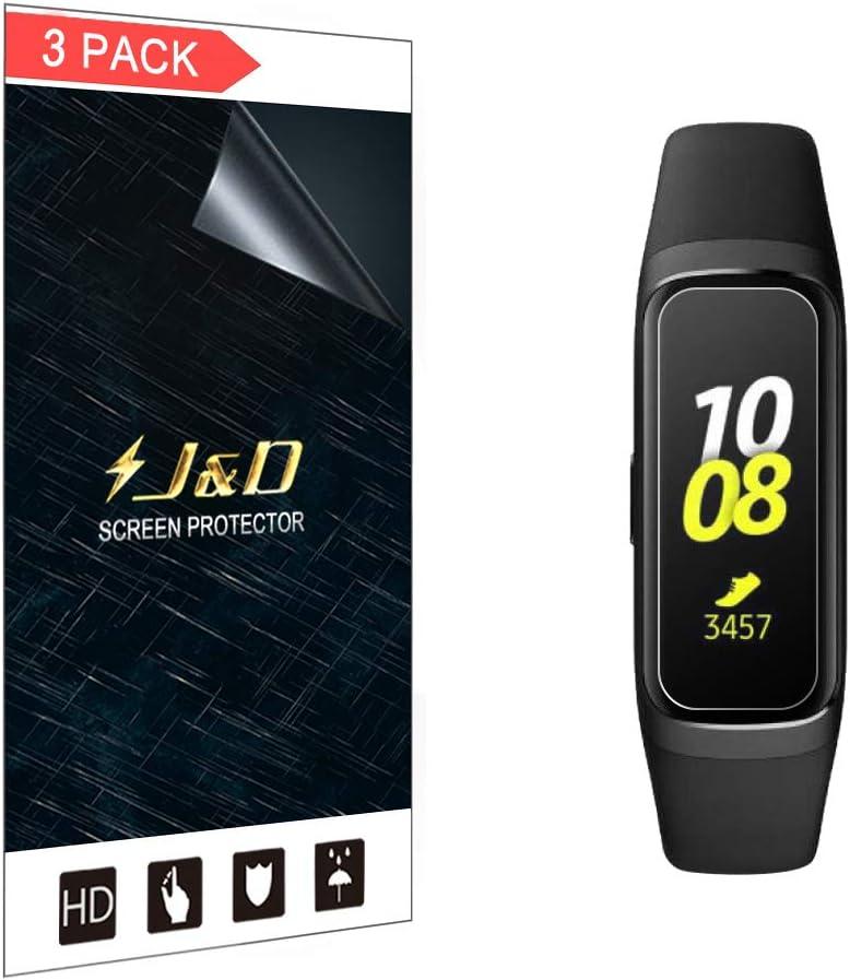 Protector de pantalla J&D para Galaxy Fit-e de 3un.