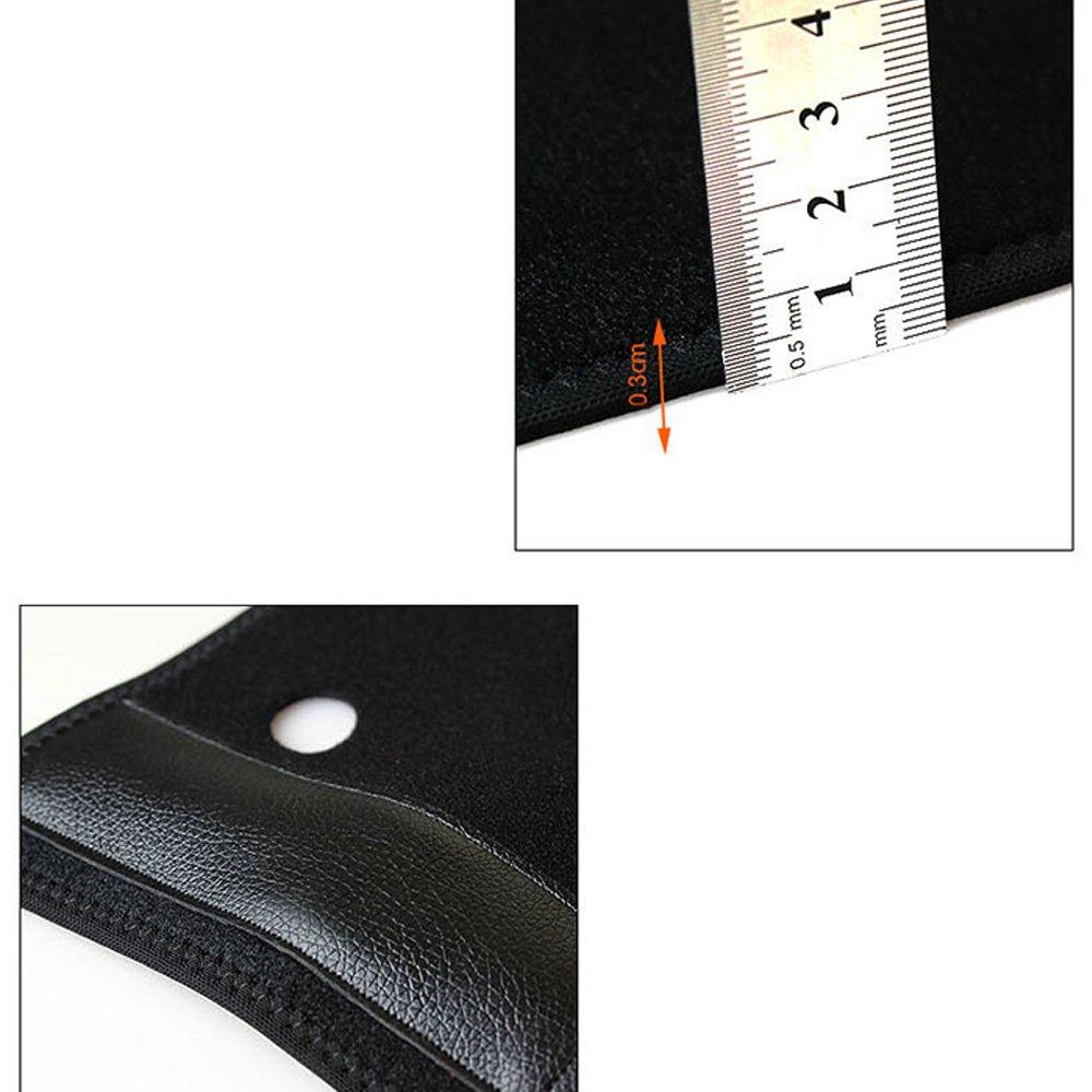 Denshine Wrist Brace Removable Wrist Splint Support Training Protector Wrist Wraps for Prevention Wrist Injury, Wrist Pain, Carpal Tunnel Syndrome, Sprain, Gym Fitness Bands,1 Pair, Black
