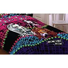 Mattel ML6068 Monster High All Ghouls Allowed Comforter, Twin/Full